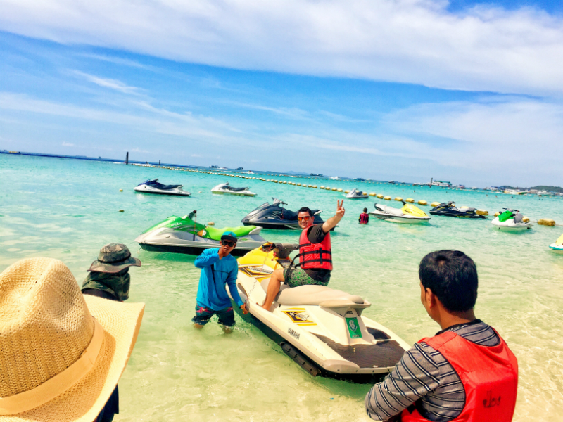Jet Ski Ride in Pattaya