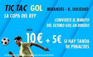 suertia promocion copa Mirandes vs Real Sociedad 4 marzo 2020