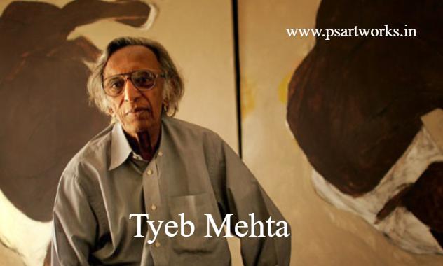Tyeb Mehta Biography And Artworks