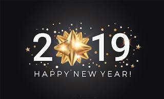 اجمل الصور للعام الجديد 2019 مكتوب عليها happy new year