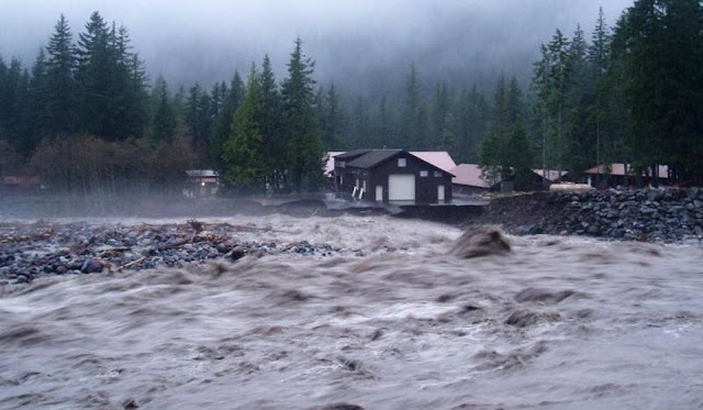 Floods because of an Earth-wide temperature boost will put mankind in danger in coming 20 years