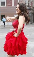 Hansika Motwani in lovely Red Mini Dress Dance Stills 08 .xyz.jpg