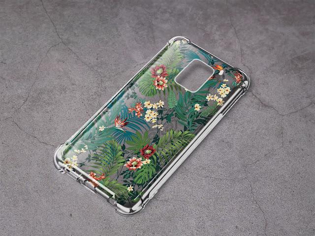 Mockup Case Anticrack Xiaomi Redmi Note 9 Pro Gratis