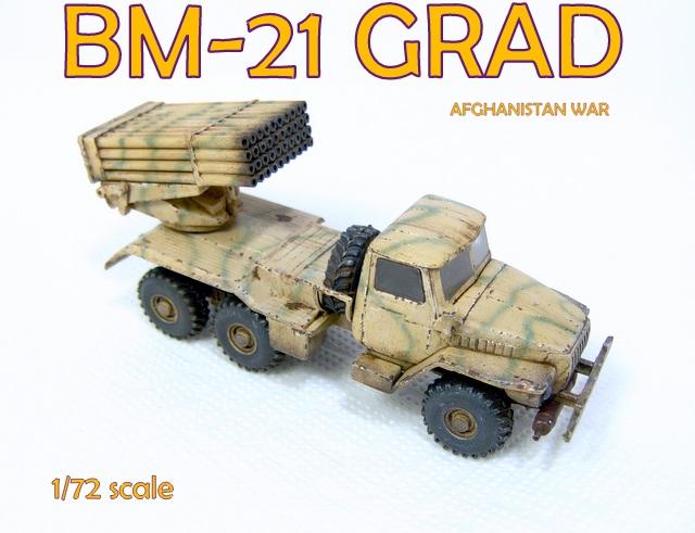gulumik military models bm 21 grad 1 72 modelism gallery. Black Bedroom Furniture Sets. Home Design Ideas