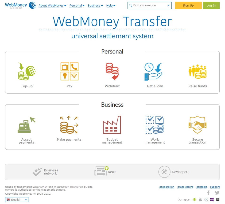 WebMoney bookmakers