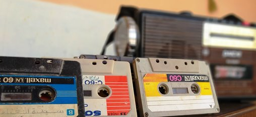 Do you remember cassette players, corded phones, b&w tvs, and typewriters?