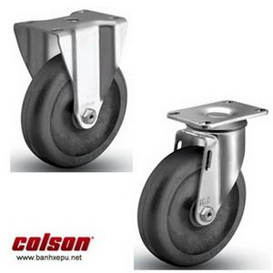 Bánh xe đẩy chịu nhiệt càng bánh xe inox 304 | www.banhxepu.net