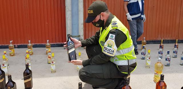 Estancos de Valledupar tenían más de $7 millones en licor de contrabando
