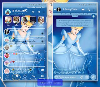 Princess Girl Theme For YOWhatsApp & KM WhatsApp By Thania