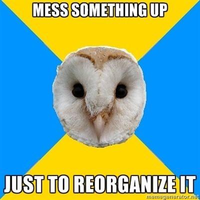 bipolar owl meme