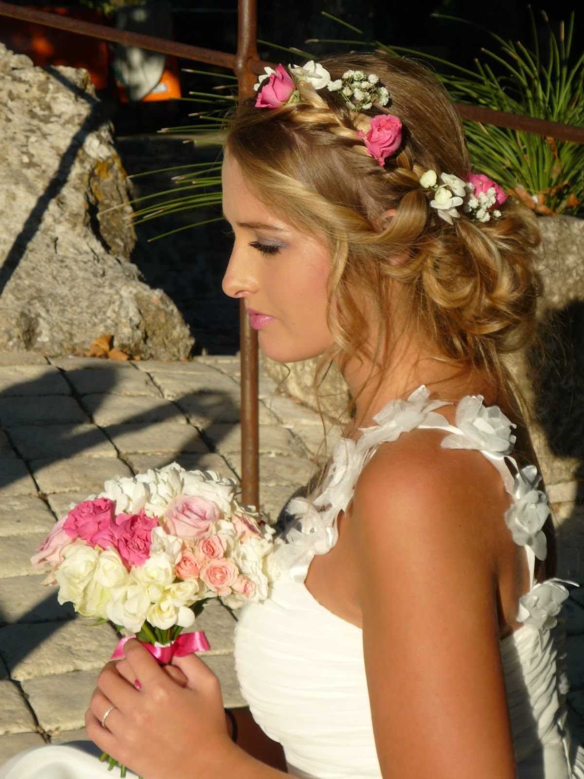 Chignons Boheme Chic Nataly Mariage Coiffure Maquillage Var 83