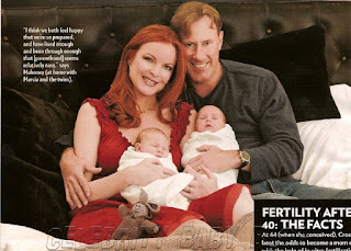 Image: Marcia Cross talks babies on EXTRA | Celebrity Babies and Kids - People
