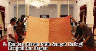 Bendera Merah Putih Sempat Terbagi Menjadi Dua Bagian merupakan salah satu fakta sejarah menarik bendera Indonesia