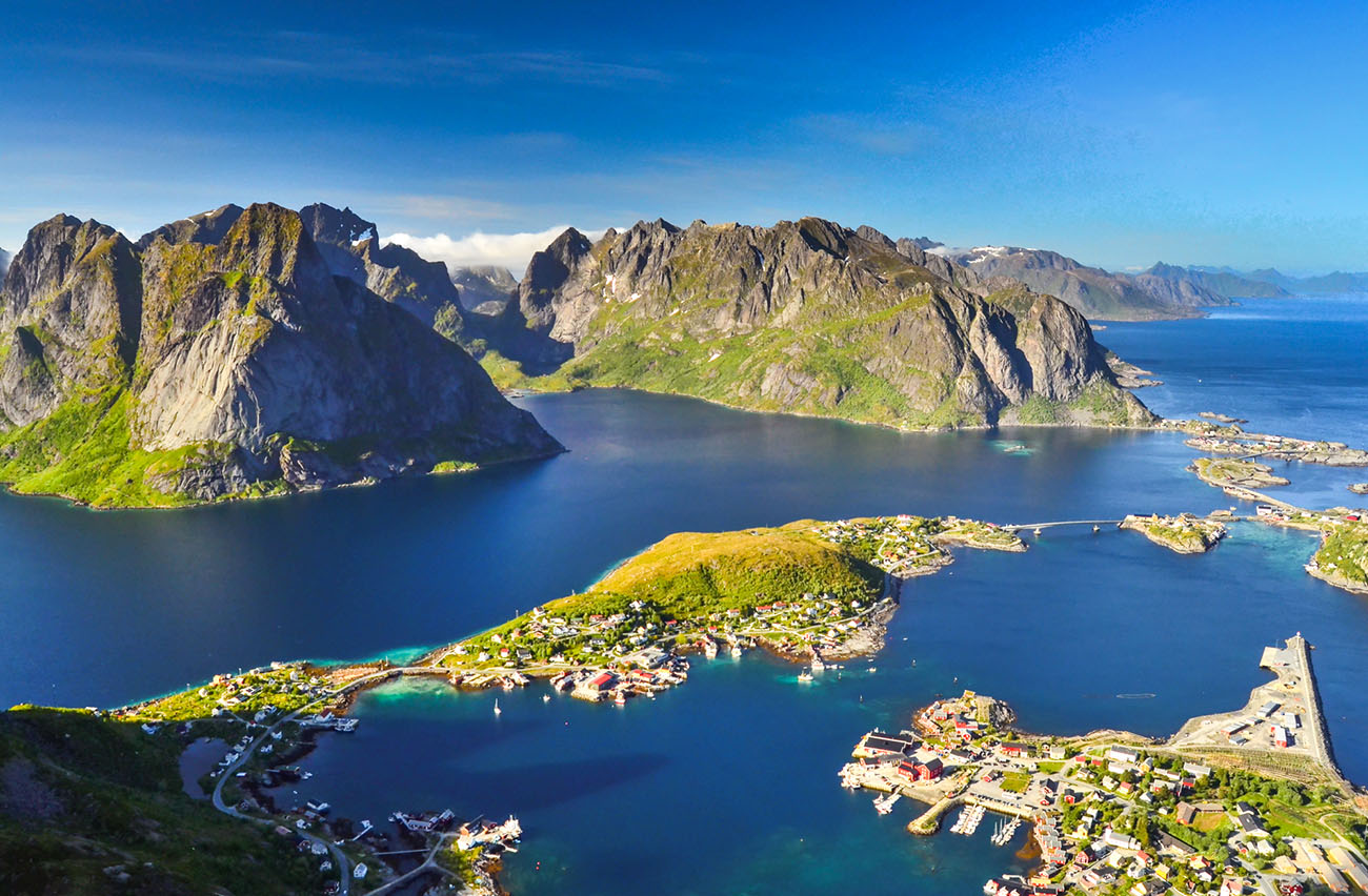 Гора Райнебринген в Норвегии