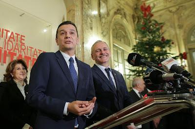 Klaus Iohannis, kormányalakítás, Sorin Grindeanu, PSD-ALDE, Románia
