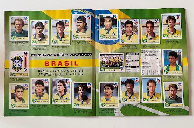 figurine brasile usa 94