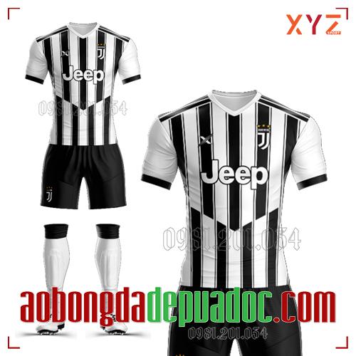 Áo CLB Juventus Tự Thiết Kế Mã JUVE-01 Đẹp Và Độc