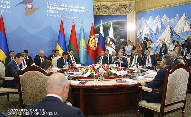 Pashinyan pide potenciar la Unión Económica Euroasiática