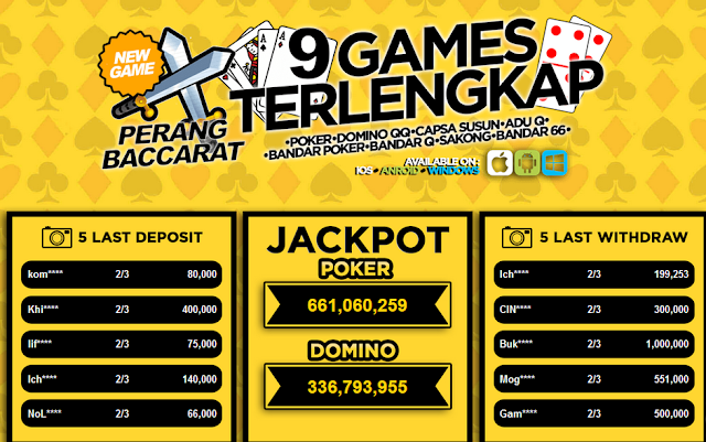 Situs Poker Online Dengan Bonus Terbaik