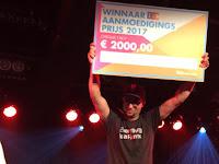 Winnaar  Aanmoedigingsprijs 2017
