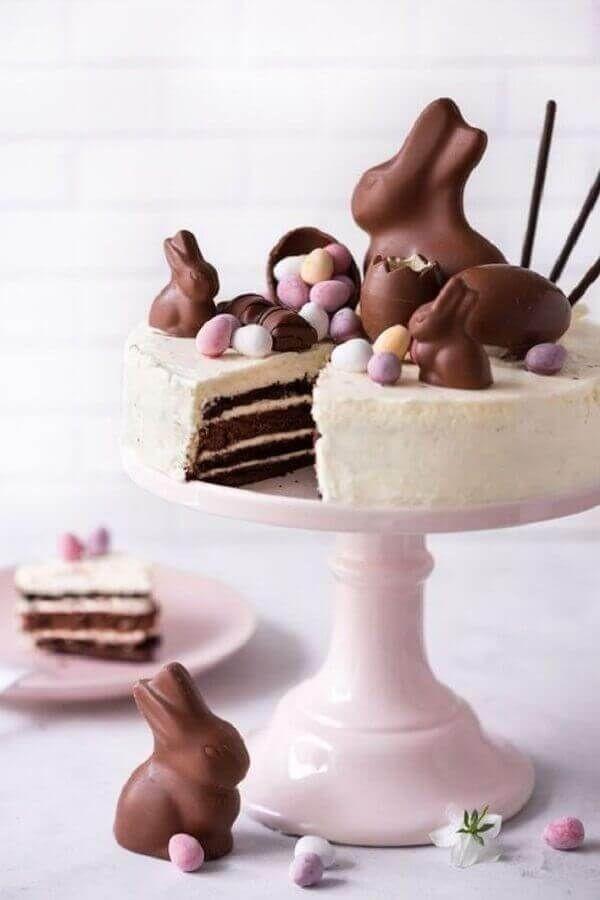 Receitas e Decoração de Bolos e cupcakes para Páscoa