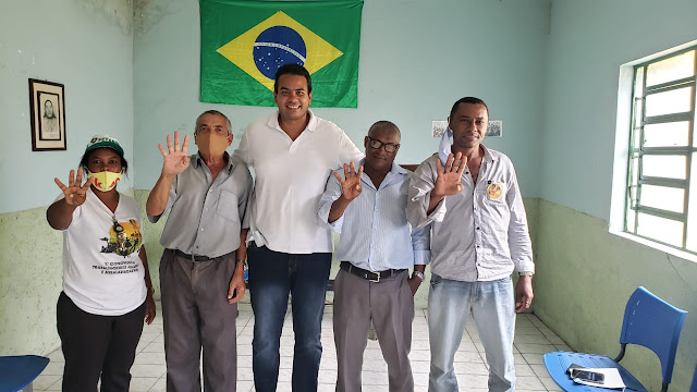 Prego do Sindicato Rural declara apoio a candidatura de Klaus à prefeitura de Escada