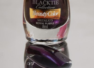 Royal purple da Beauty color coleção Blacktie