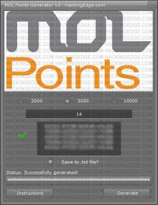 latest mod apk games: MOL Points Hack Generator