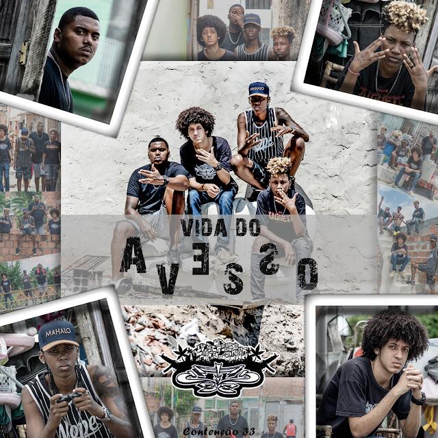 """Contenção33 divulga capa e data de lançamento do seu EP """"Vida do Avesso"""""""