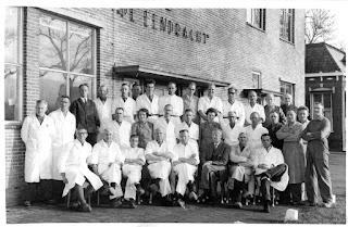 Personeel De Eendracht jaren 50