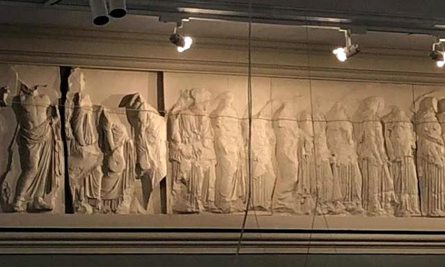 Αυστραλία: Αναδεικνύεται και «ζωντανεύει» αντίγραφο της Ζωφόρου του Παρθενώνα