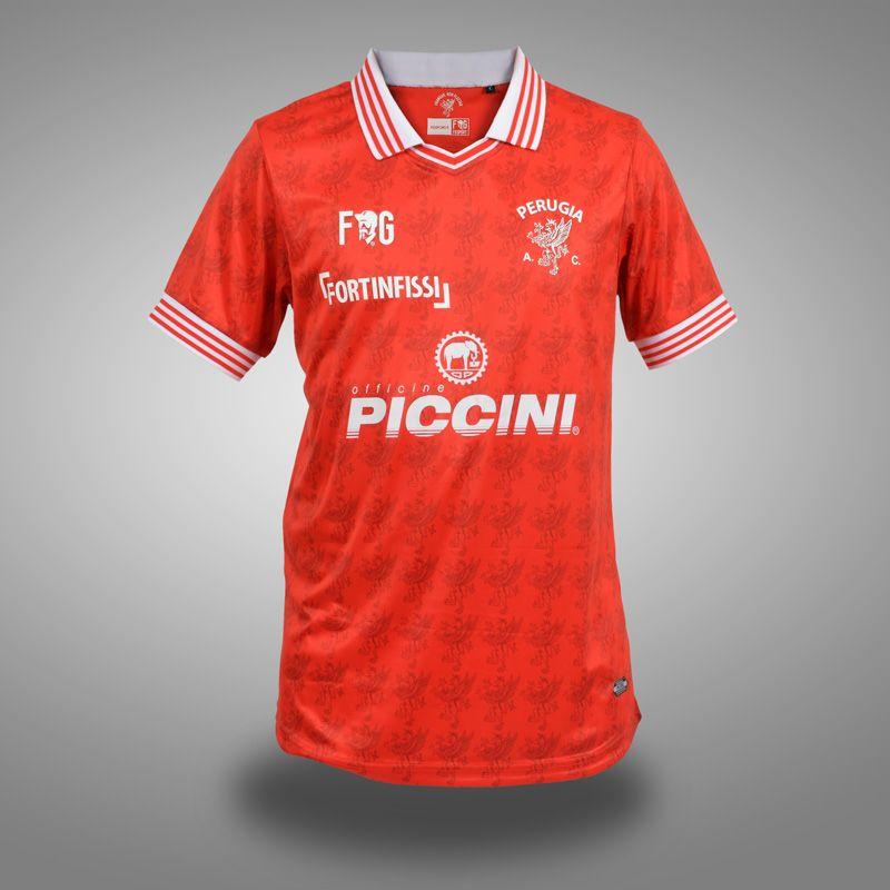 6bcf346299 FG Sport lança as novas camisas do Perugia - Show de Camisas