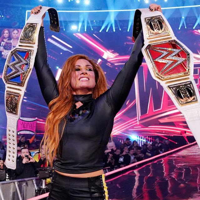 Becky Lynch Defends After RAW, Identity of IIconics Opponents on Raw