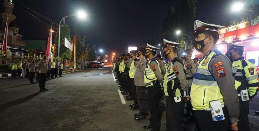 Malam Pergantian Tahun Aman, Polres Purbalingga Sampaikan Terima Kasih Ke Warga Patuhi Prokes