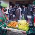 Prajurit Kodim 0119/Sambangi Mapolres Dalam Rangka HUT Bhayangkara Ke 75