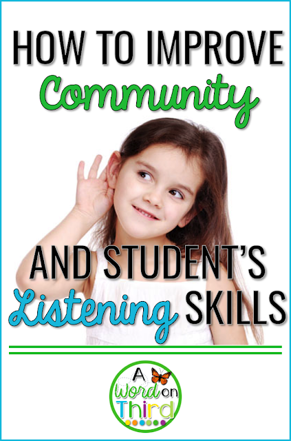 How To Improve Community And Student's Listening Skills... All At Once! By A Word On Third