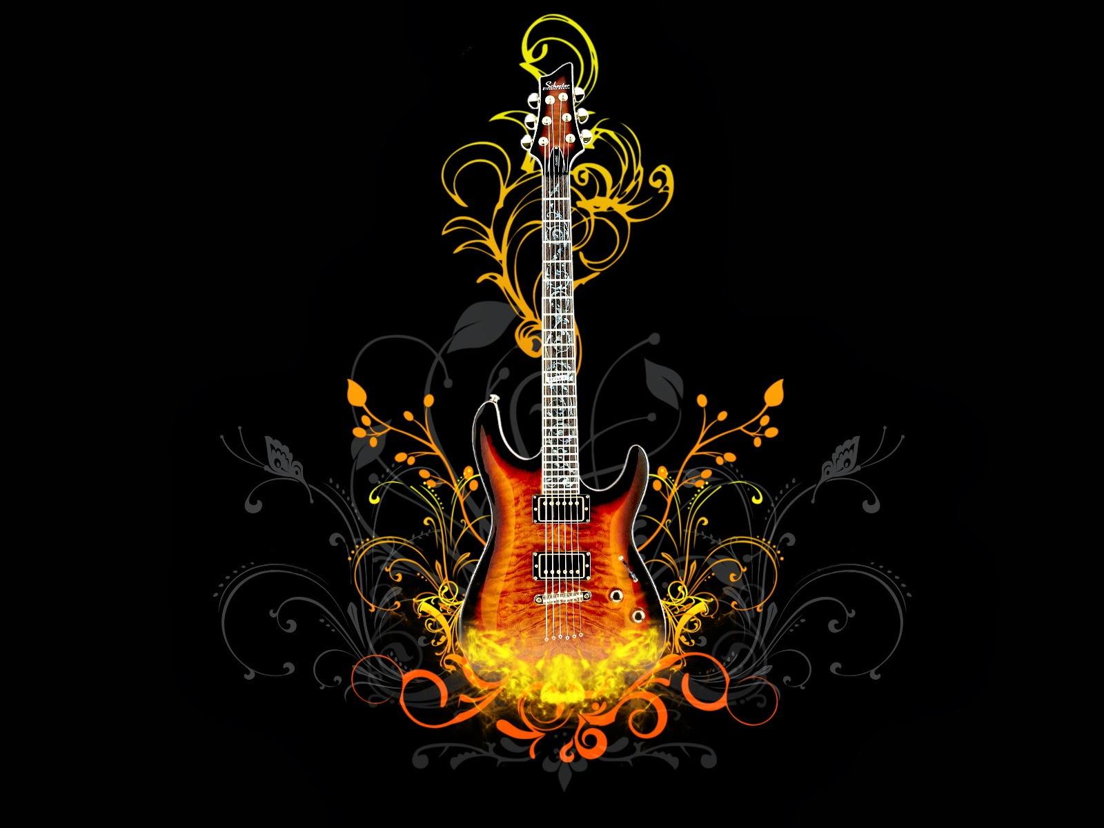 Hard Rock Guitar Wallpaper