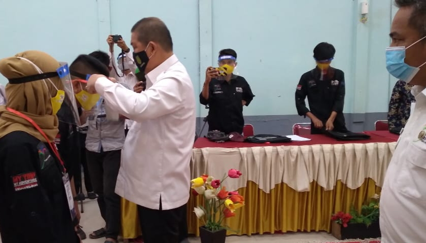 Wabup Inhil, Riau Buka Pelatihan Mengelola Homestay