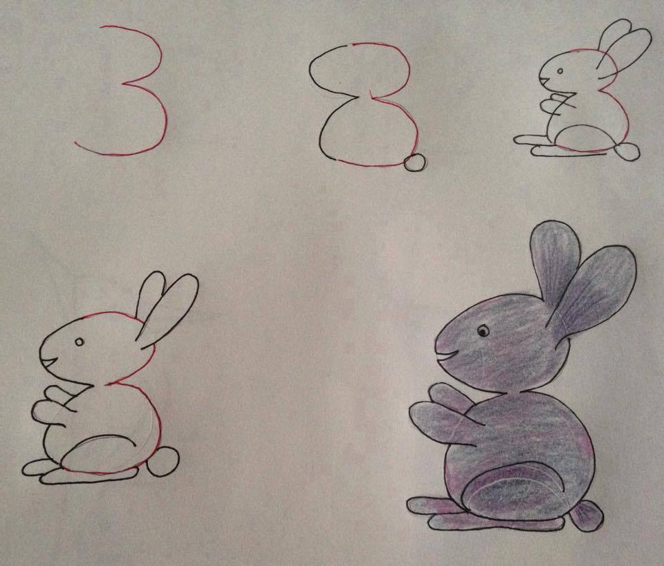 Contoh Gambar Sederhana Untuk Mengajari Anakanak Belajar