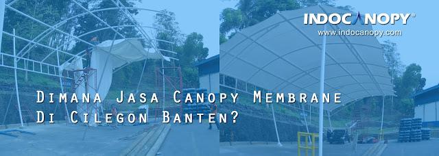 Jasa Canopy Membrane Tangerang