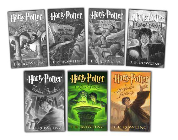 TAG TOP Harry Potter Ulubiona książka część Insygnia Śmierci Książę Półkrwi saga cykl komplet