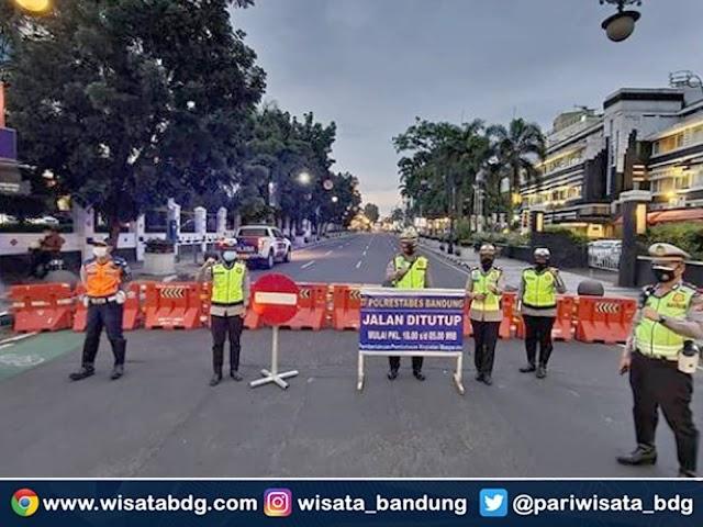 PPKM Berskala Mikro di Kota Bandung Diberlakukan Mulai 9 Februari 2021, Ini Ruas-Ruas Jalan yang Ditutup