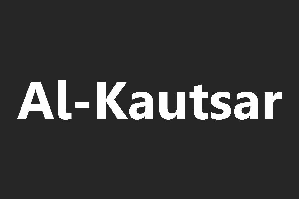 Surat Al Kautsar Arab Latin Dan Terjemahannya Juz 30 Full