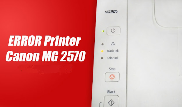 kode error printer canon mg 2570