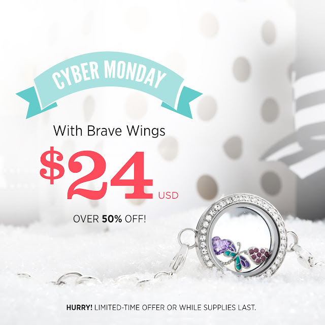 Shop Origami Owl Cyber Monday Sale at StoriedCharms.com