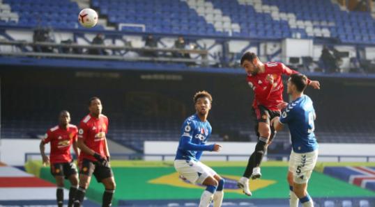 Everton Vs Manchester United 1 3 Highlights
