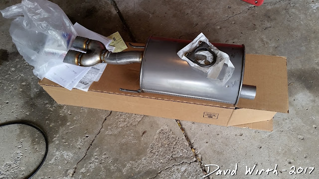 clamp exhaust, muffler, rusted, clamp