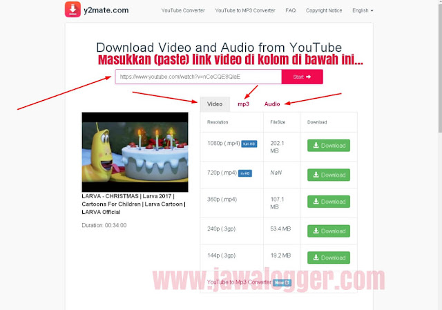 cara download youtube secara online