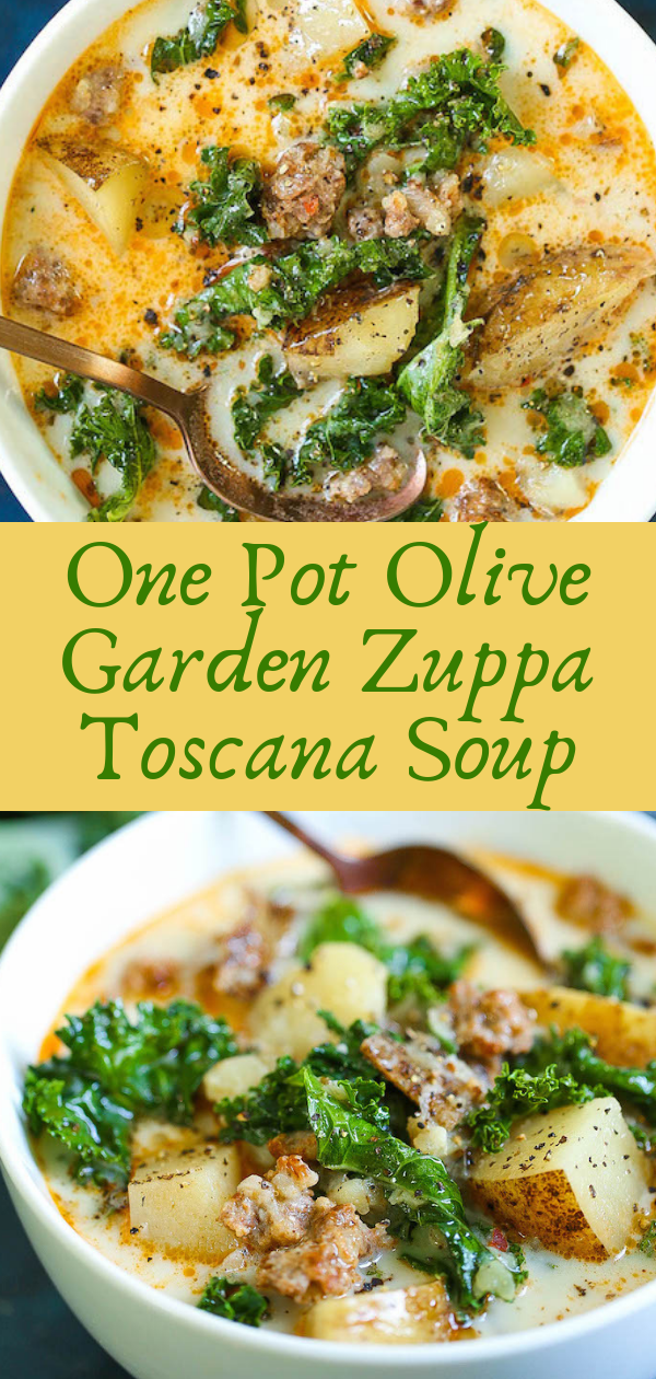 Healthy Recipes | One Pot Olive Garden Zuppa Toscana Soup, Healthy Recipes For Weight Loss, Healthy Recipes Easy, Healthy Recipes Dinner, Healthy Recipes Pasta, Healthy Recipes On A Budget, Healthy Recipes Breakfast, Healthy Recipes For Picky Eaters, Healthy Recipes Desserts, Healthy Recipes Clean, Healthy Recipes Snacks, Healthy Recipes Low Carb, Healthy Recipes Meal Prep, Healthy Recipes Vegetarian, Healthy Recipes Lunch, Healthy Recipes For Kids, Healthy Recipes Crock Pot, Healthy Recipes Videos, Healthy Recipes Weightloss, Healthy Recipes Chicken, Healthy Recipes Heart, Healthy Recipes For One, Healthy Recipes For Diabetics, Healthy Recipes Smoothies, Healthy Recipes For Two, Healthy Recipes Casserole, Healthy Recipes Salmon, Healthy Recipes Tasty, Healthy Recipes Avocado, Healthy Recipes Quinoa, Healthy Recipes Cauliflower, Healthy Recipes Pork, Healthy Recipes Steak, Healthy Recipes For School, Healthy Recipes Slimming World, Healthy Recipes Fitness, Healthy Recipes Baking, Healthy Recipes Sweet, Healthy Recipes Indian, Healthy Recipes Summer, Healthy Recipes Vegetables, Healthy Recipes Diet, Healthy Recipes No Meat, Healthy Recipes Asian, Healthy Recipes On The Go, Healthy Recipes Fast, Healthy Recipes Ground Turkey, Healthy Recipes Rice, Healthy Recipes Mexican, Healthy Recipes Fruit, Healthy Recipes Tuna, Healthy Recipes Sides, Healthy Recipes Zucchini, Healthy Recipes Broccoli, Healthy Recipes Spinach,  #healthyrecipes #recipes #food #appetizers #dinner #olive #garden #zuppa #toscana #soup