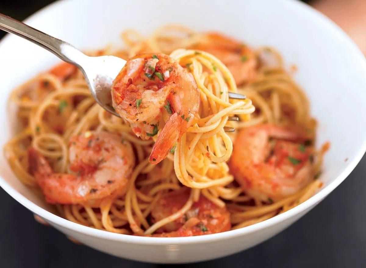 Low-Calorie Shrimp Fra Diavolo Recipe